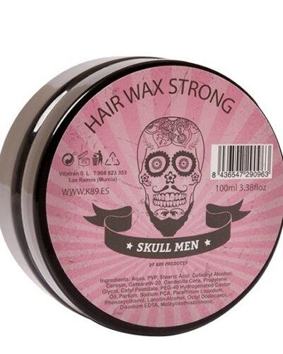 K89 SKULL MEN strong fixing wax 100ml