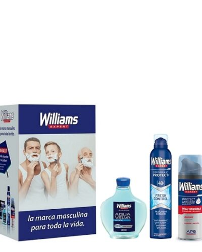 WILLIAMS Personal Care Gift Set 4 pcs