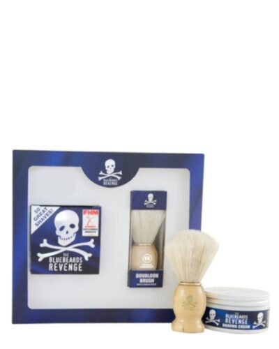 The Bluebeards Revenge Shaving Cream & Doubloon Brush Kit