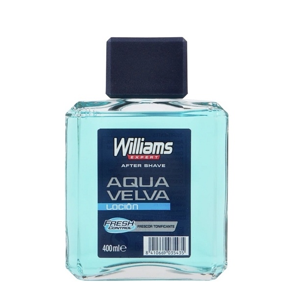 WILLIAMS AQUA VELVA AFTER SHAVE 400ml