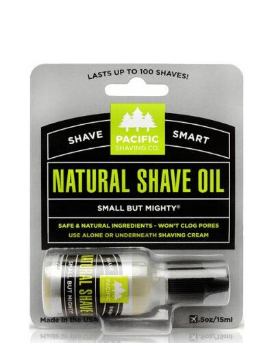 Pacific Shaving Co. Natural Shaving Oil 15ml